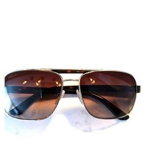 Prada Womens Aviator Sunglasses
